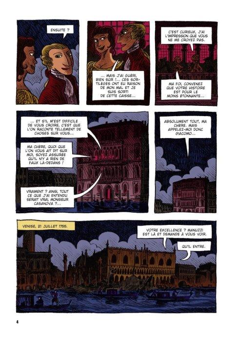 Casanova sous les plombs 4