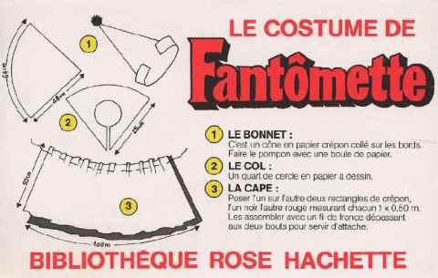 masque fantomette