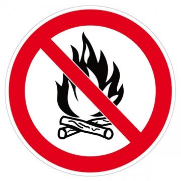 feu interdit
