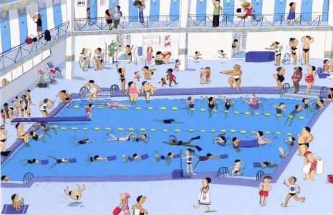 Parfait pour aller nager sans trop se mouiller avec Magali Le Huche…