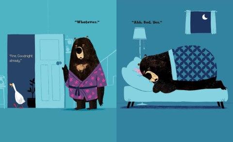 Nom d'une pipe, l'ours a le même grain de beauté que l'Auteur.