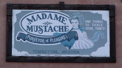 Madame-Mustache