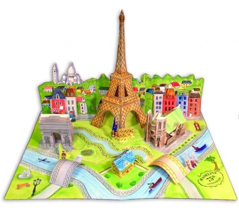 Et pourquoi pas un toboggan pour rallier Notre Dame du haut de la tour Eiffel ?