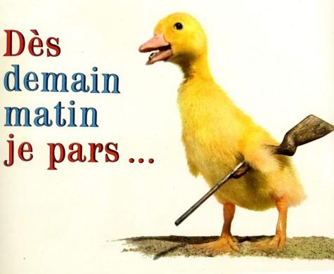 Saturnin part à la chasse au canard.
