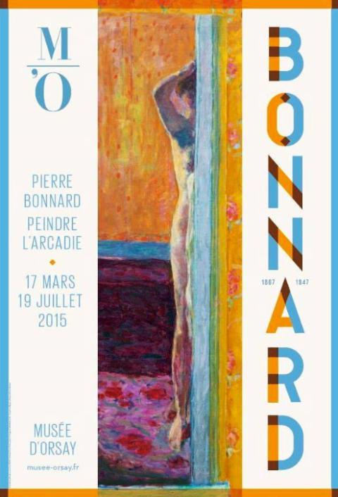 affiche bonnard expo musée d'orsay