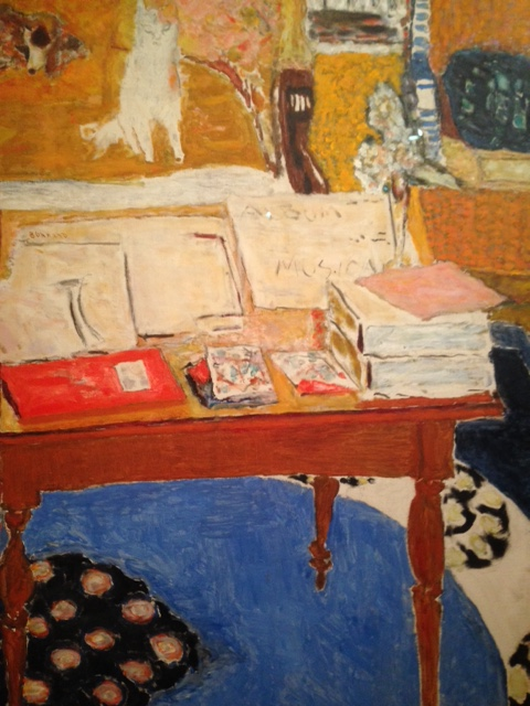 Bonnard table de travail