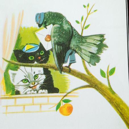 Et ils mangent les oiseaux.
