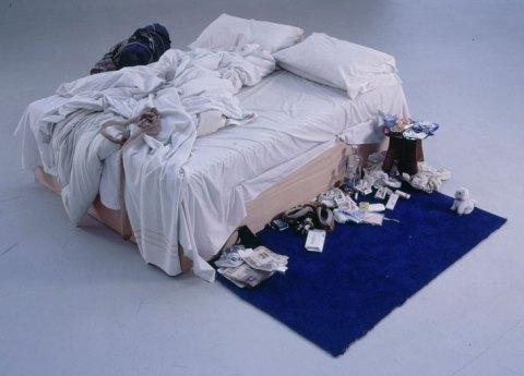 Mon lit, Tracey Emin, 1998
