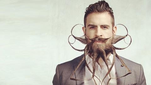 Parfois le hipster est un fou hipster avec une formibarbe.