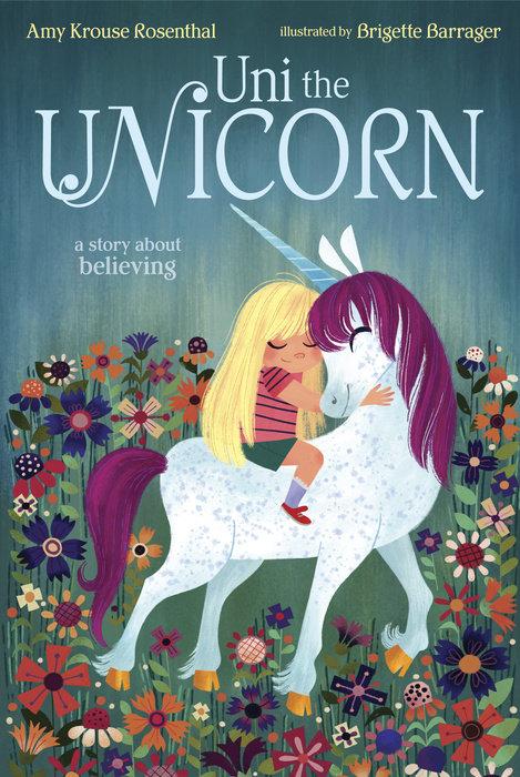 Malgré ce qu'on raconte chez les licornes, Uni croit que les petites filles existent !