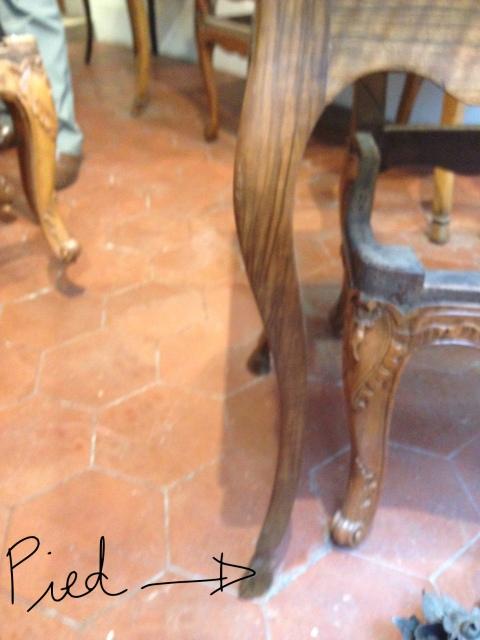 The pied idéal, sans bronze.