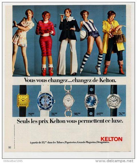 Pour les filles des années 70 !